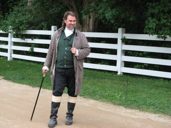 Greeter at Mt. Vernon