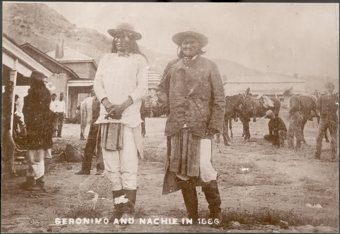 Geronimo at Ft. Bowie Arizona History