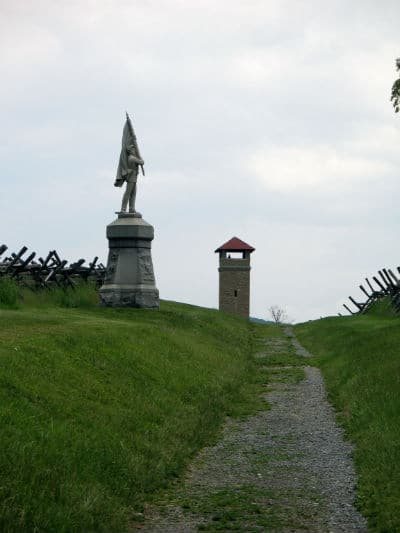 Sunken Road Antietam Civil War Battlefield