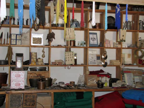 Trade Room at Bent's Fort, Southeast Colorado